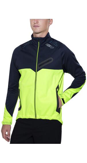 Fox Bionic Softshell Jacket Men navy/yellow